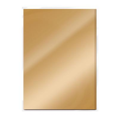 Cardstock  -Mirror card Gloss - Harvest Gold