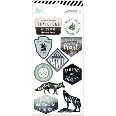 Stickers - Wolf Pack - Embossed Stickers