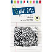 Washi Tape - Hall Pass - Leaves - 3/Pkg