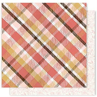 Cardstock - Creekside - Cosy Plaid