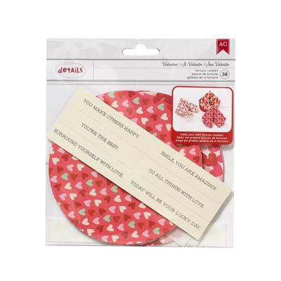 Kit Lucky Fortune Cookie - Valentine - 12/Pkg